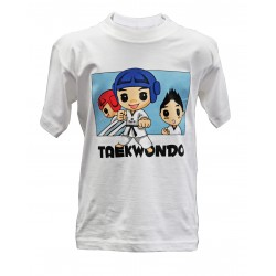 T-shirt TKD Kids